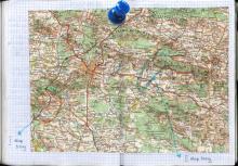Kielecczyzna, maj 2003 - Księga Wypraw 1s051 - mapa