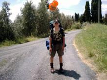 Włochy, lato 2004 - W drodze z Volterry