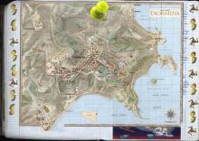 Włochy, lato 2004 - Księga Wypraw 2s058a - Taormina, mapa
