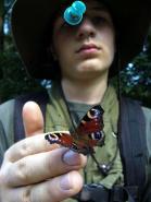 Sudety 2006 - Z motylkiem na dloni