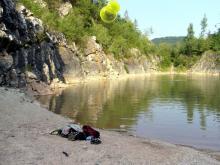 Sudety 2006 - Szmaragdowe jeziorko