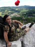 Sudety 2006 - Odpoczynek na skałce
